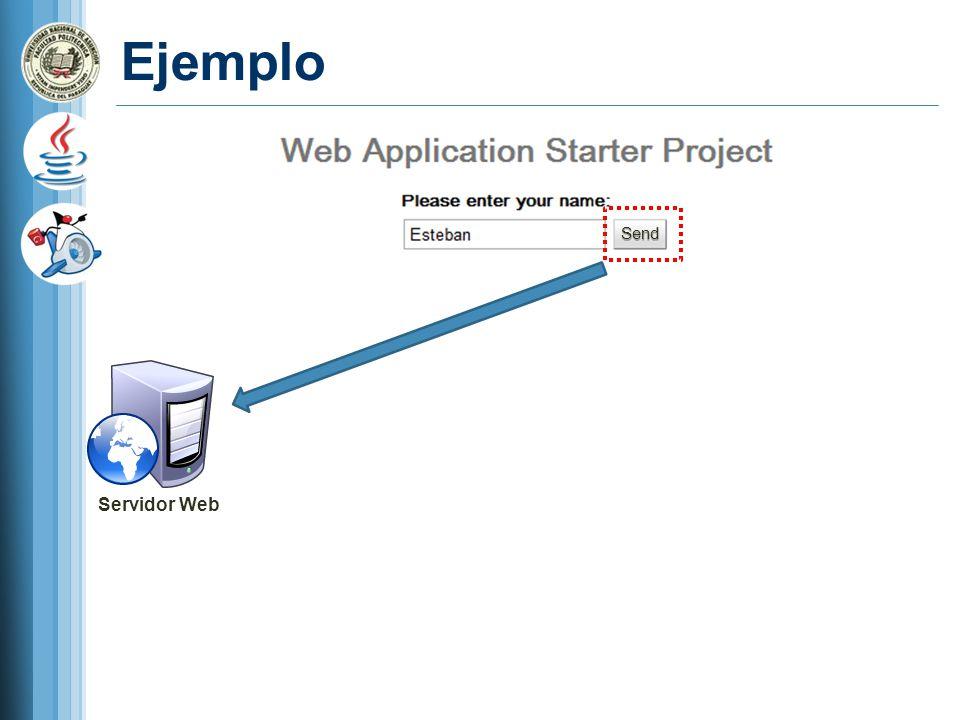 Ejemplo Send Servidor Web