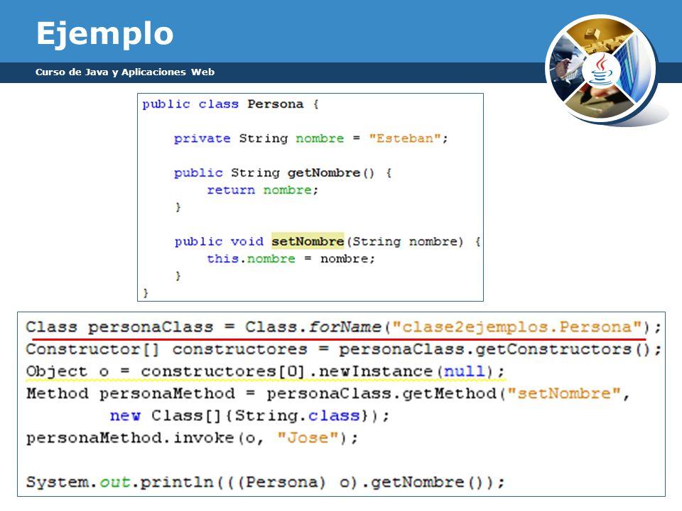 Ejemplo Curso de Java y Aplicaciones Web