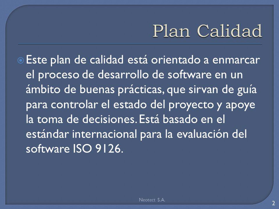 Plan Calidad