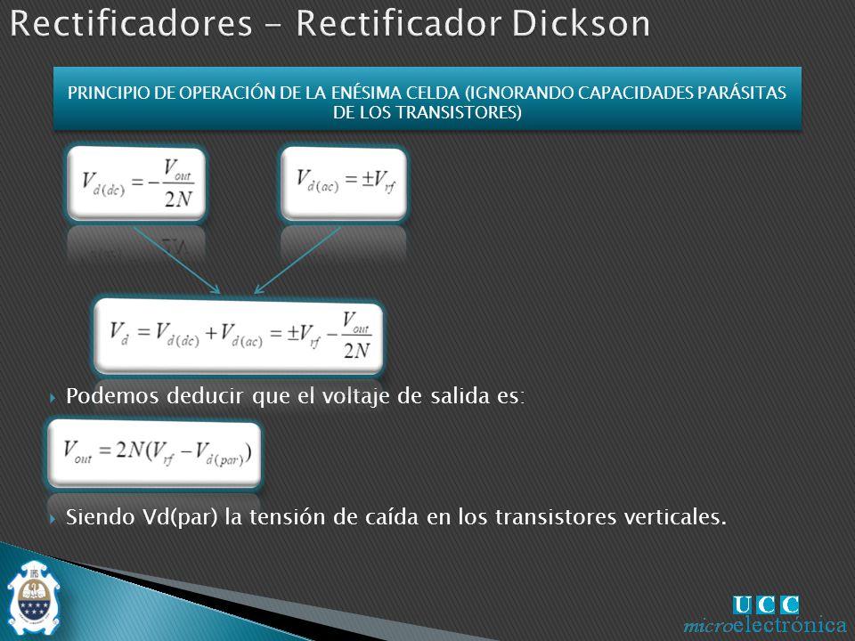 Rectificadores - Rectificador Dickson