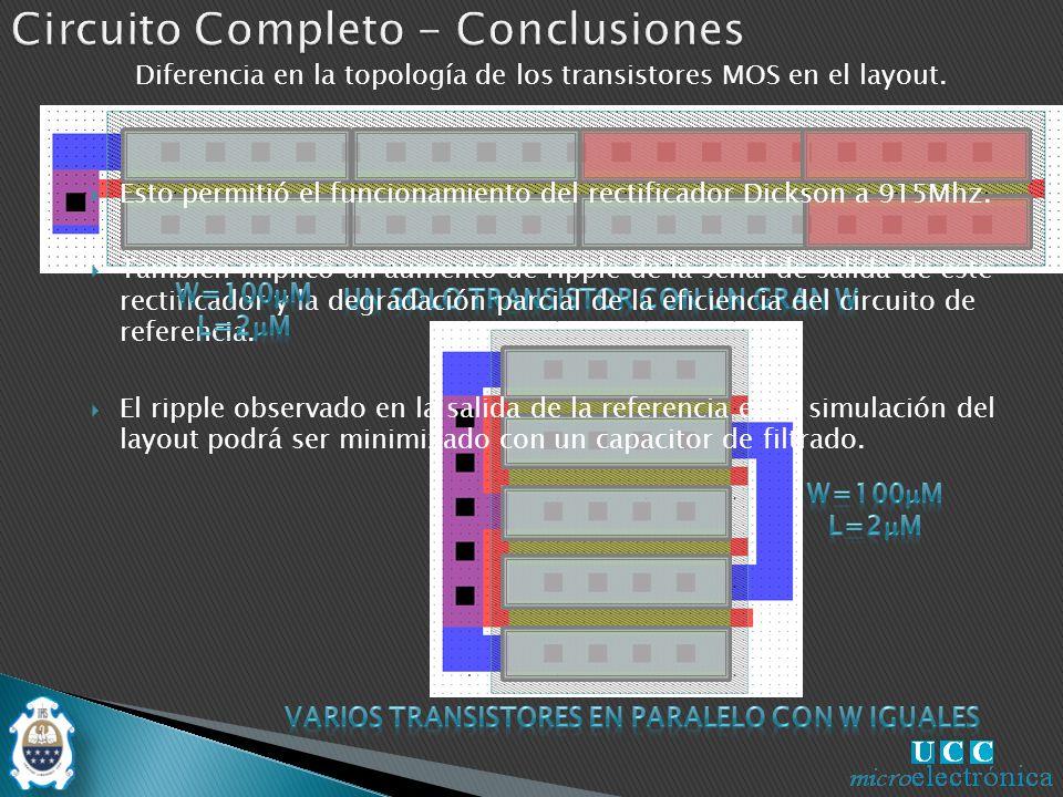 Circuito Completo - Conclusiones