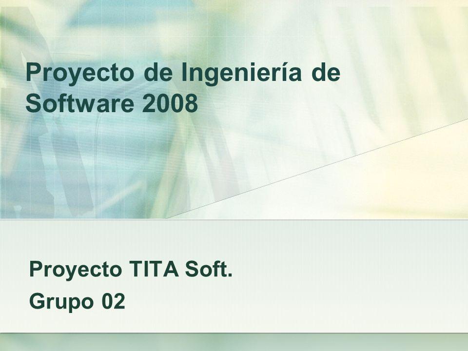 Proyecto de Ingeniería de Software 2008