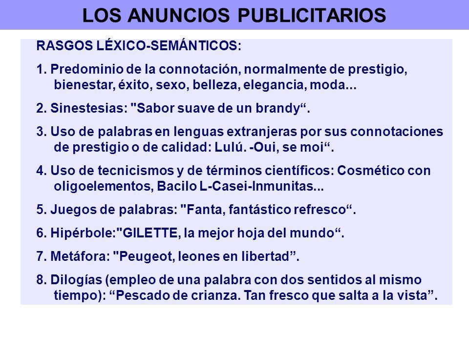 LOS ANUNCIOS PUBLICITARIOS