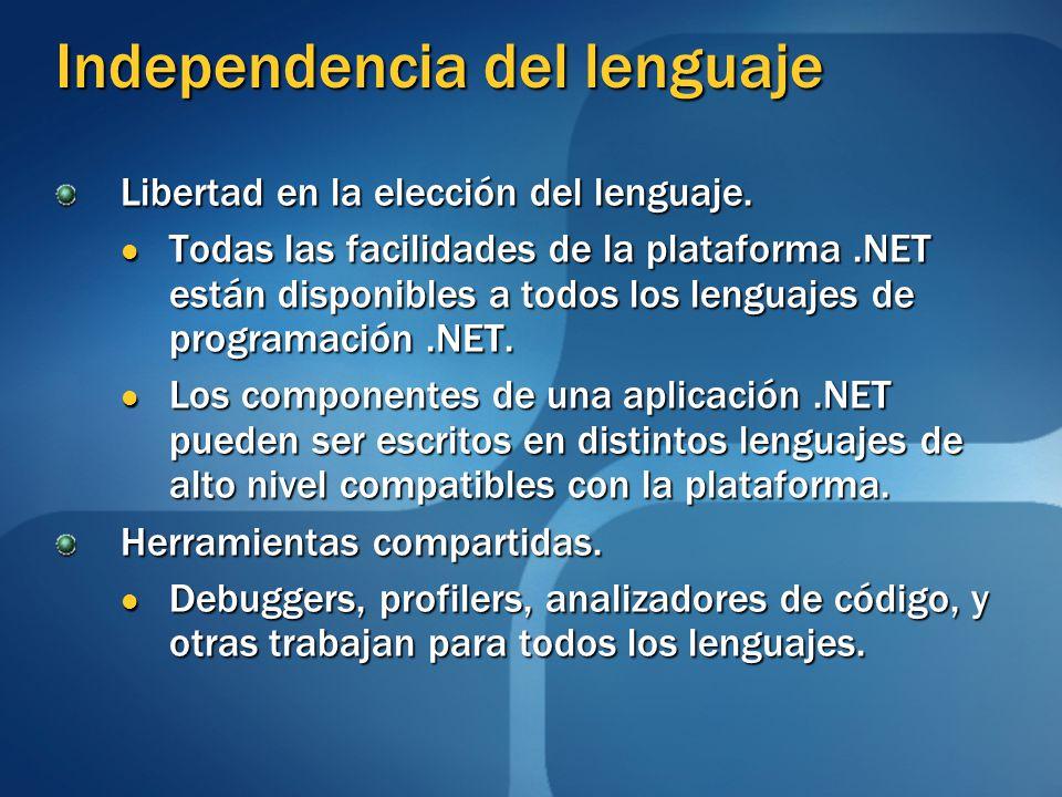Independencia del lenguaje