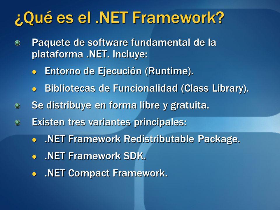 ¿Qué es el .NET Framework
