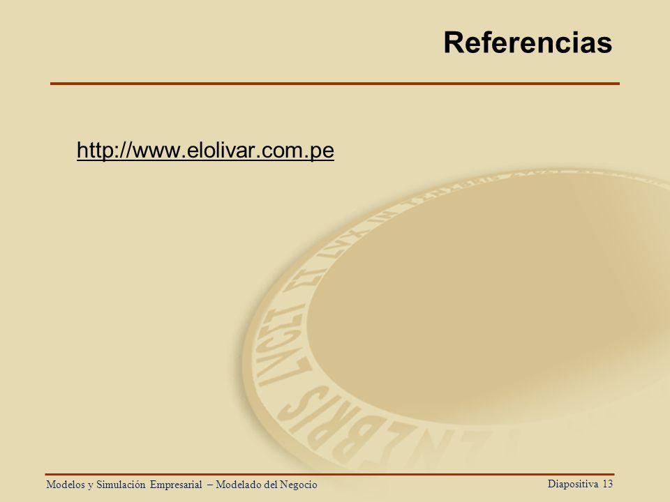 Referencias http://www.elolivar.com.pe