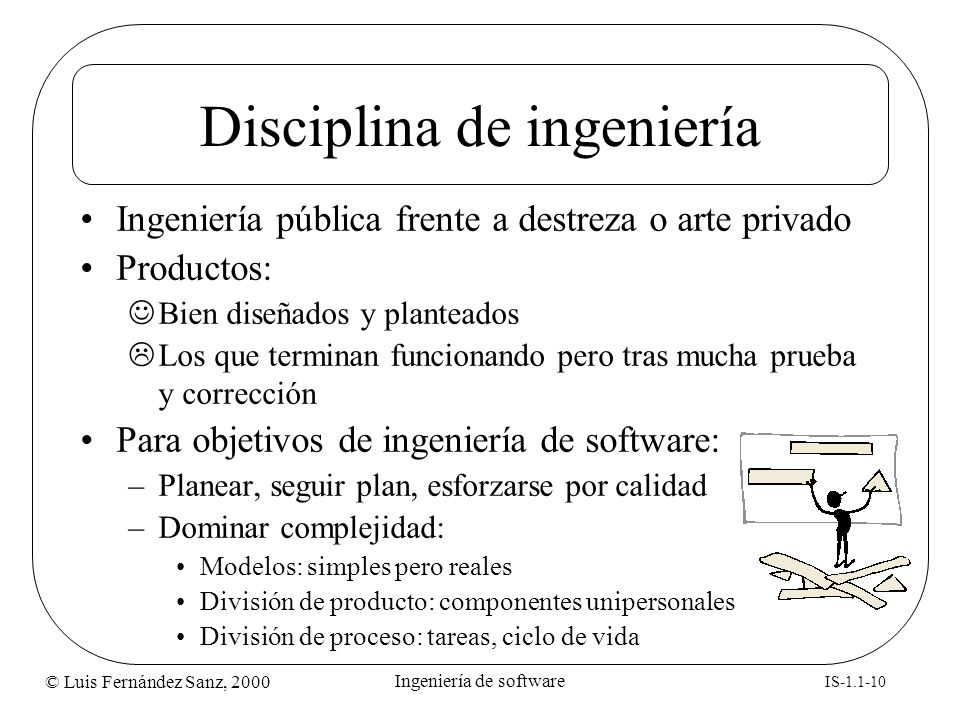 Disciplina de ingeniería