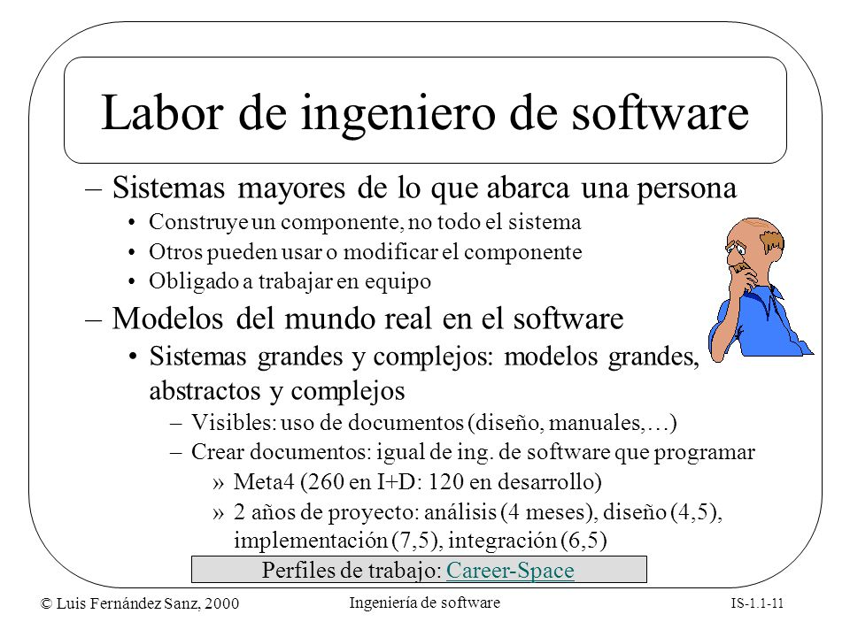 Labor de ingeniero de software
