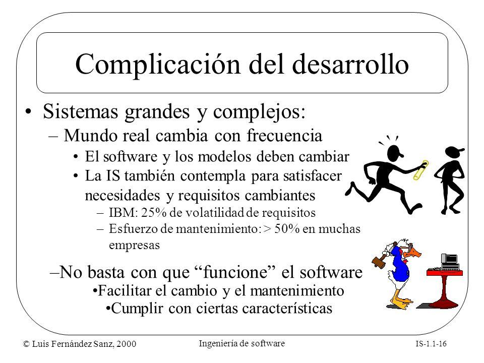 Complicación del desarrollo