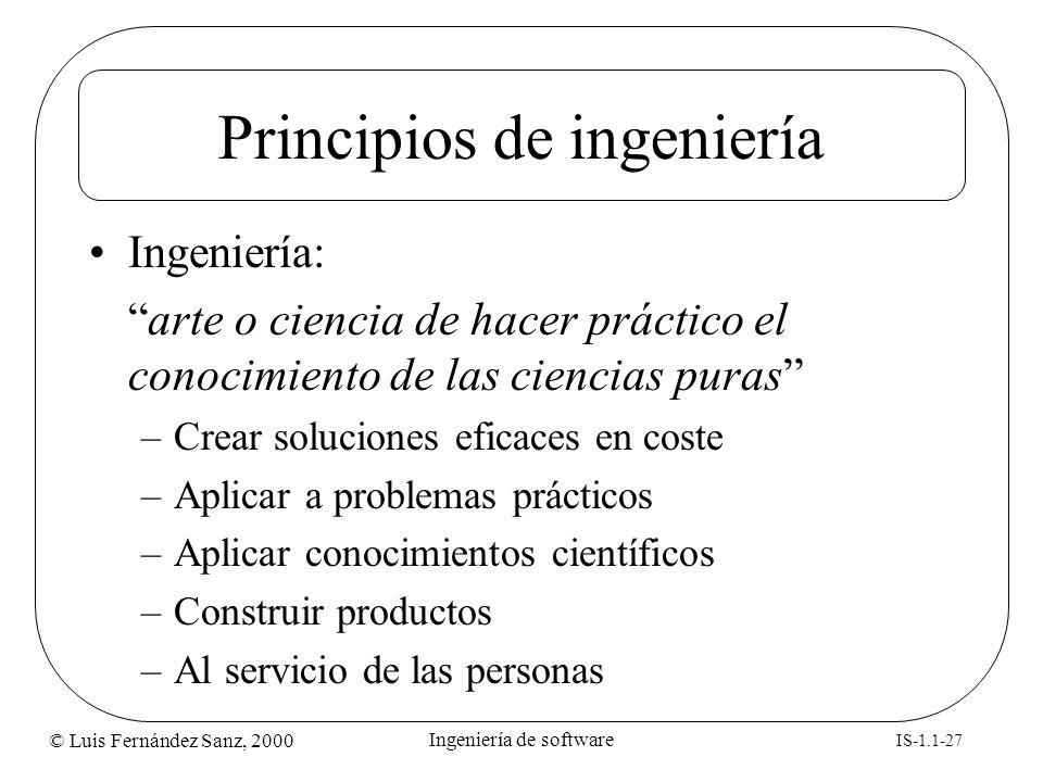 Principios de ingeniería