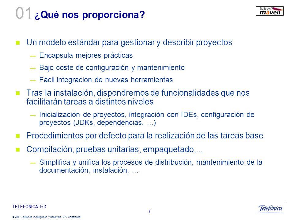 01 ¿Qué nos proporciona Un modelo estándar para gestionar y describir proyectos. Encapsula mejores prácticas.