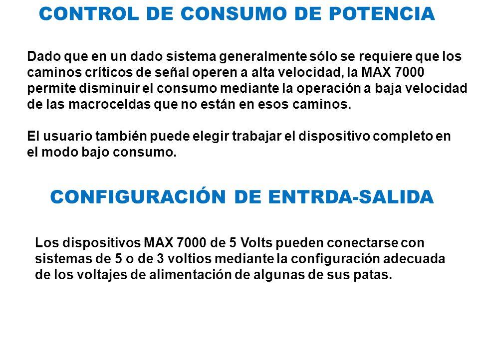 CONTROL DE CONSUMO DE POTENCIA