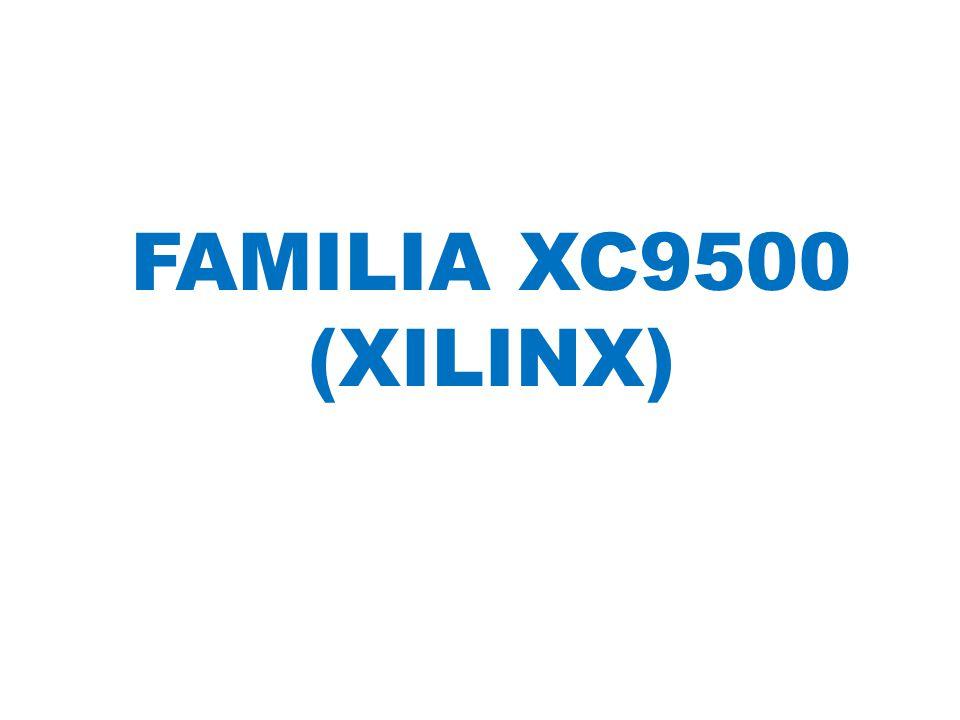 FAMILIA XC9500 (XILINX)