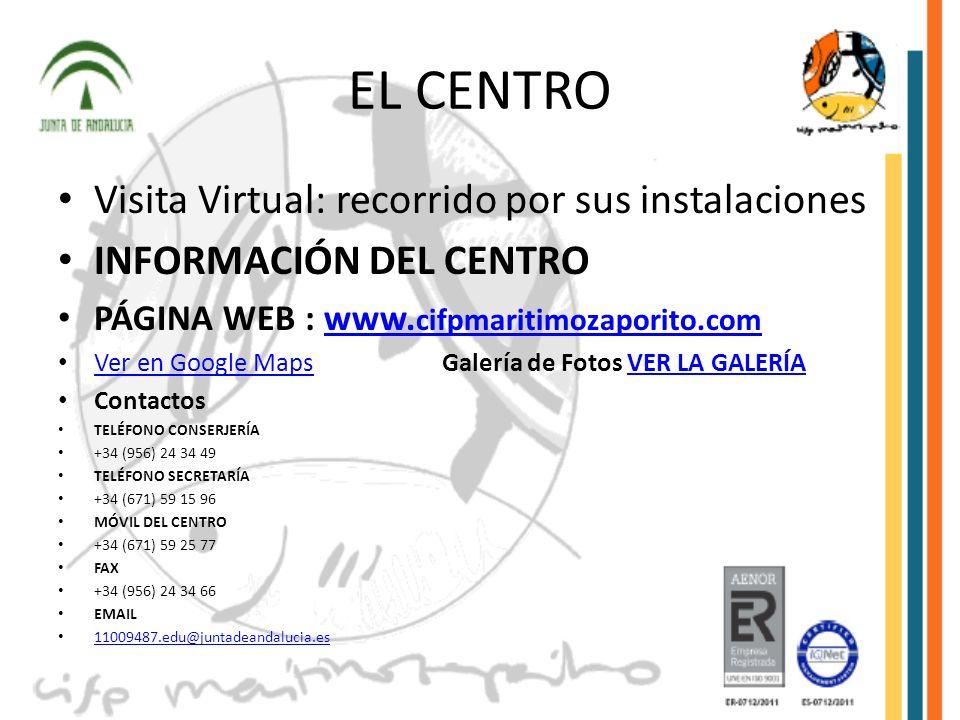 EL CENTRO Visita Virtual: recorrido por sus instalaciones
