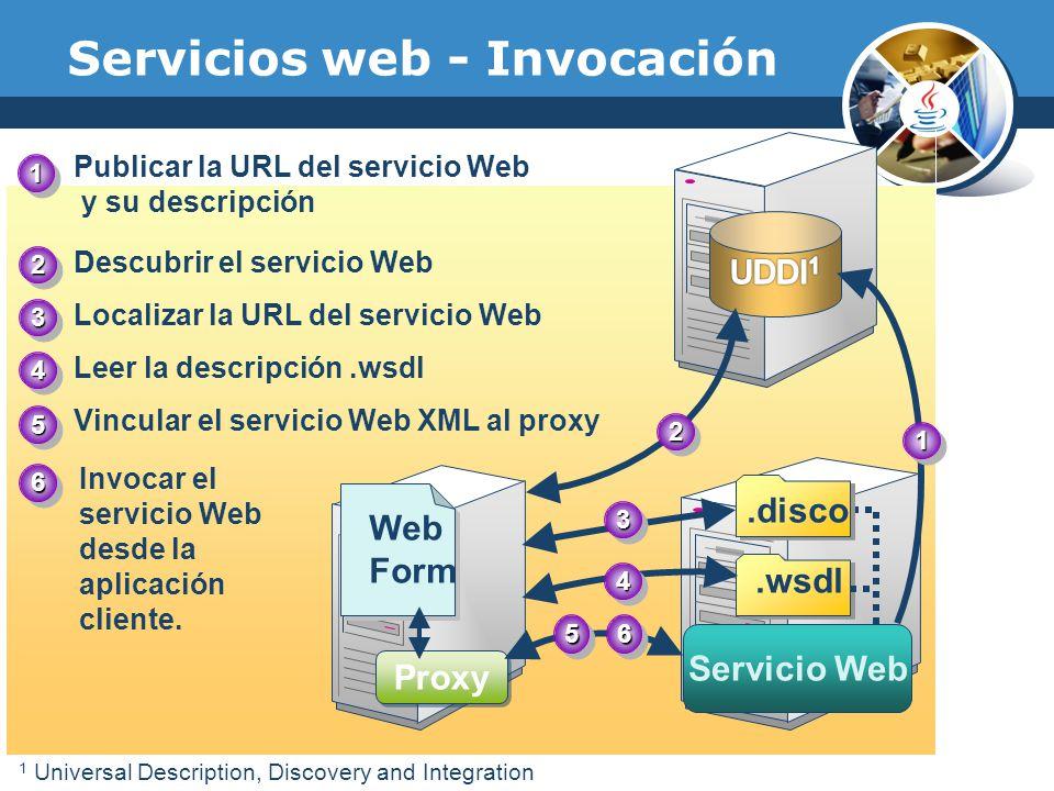 Servicios web - Invocación