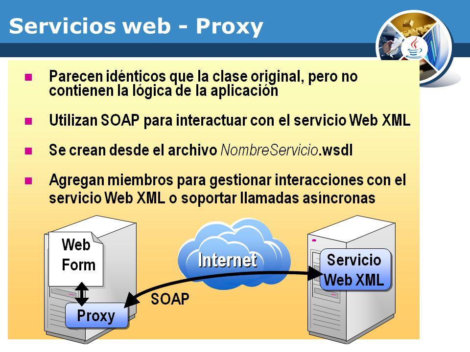 Servicios web - Proxy