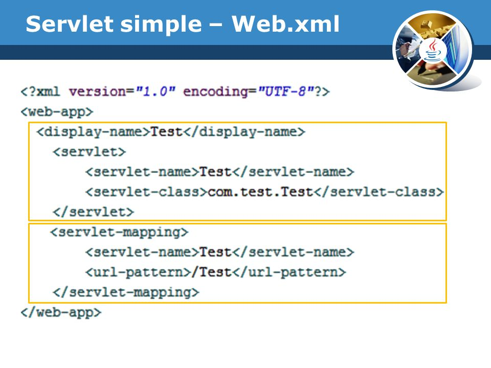 Servlet simple – Web.xml