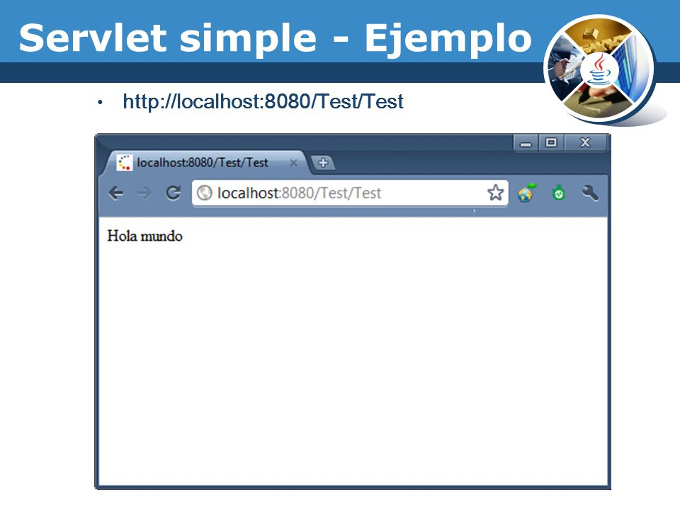 Servlet simple - Ejemplo