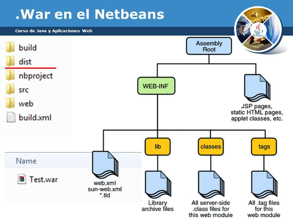 .War en el Netbeans Curso de Java y Aplicaciones Web