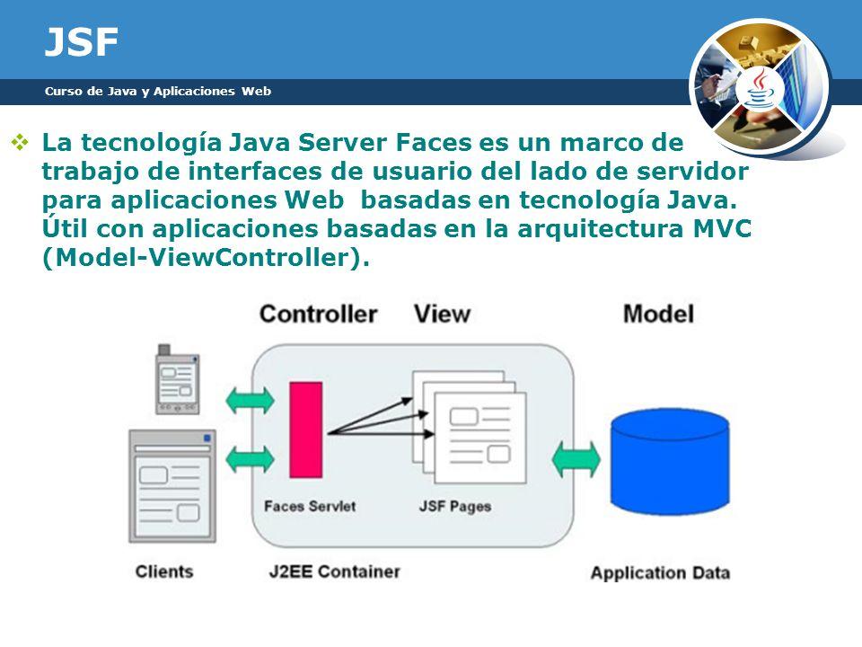 JSF Curso de Java y Aplicaciones Web.