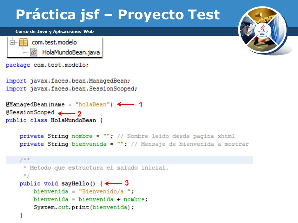 Práctica jsf – Proyecto Test