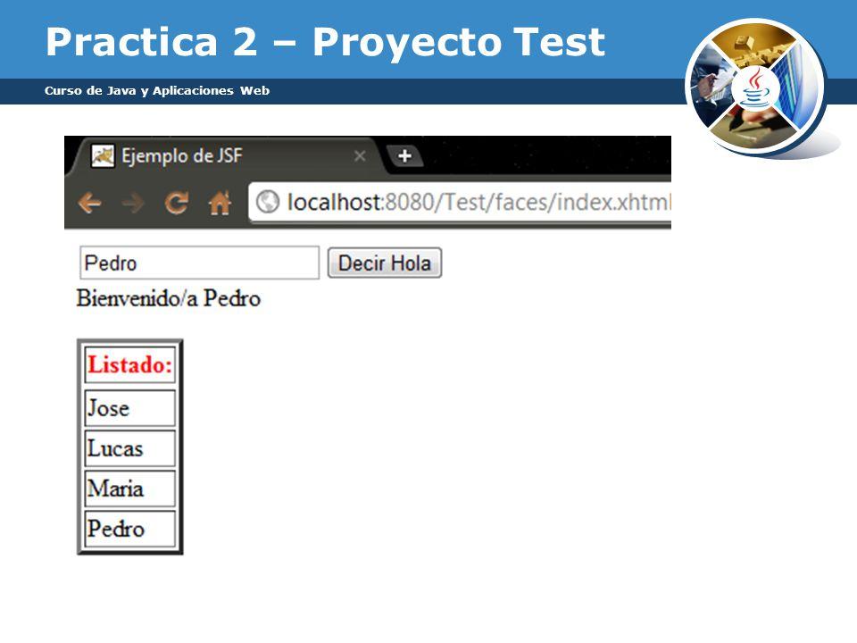 Practica 2 – Proyecto Test