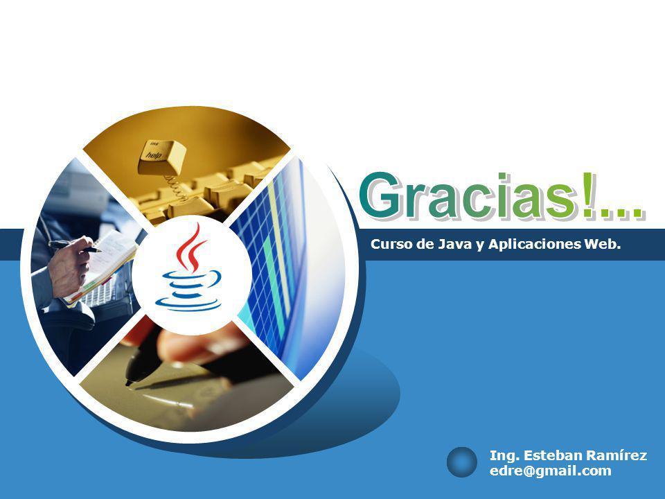 Curso de Java y Aplicaciones Web.