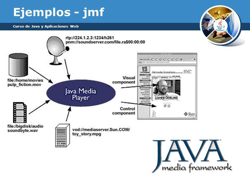 Ejemplos - jmf Curso de Java y Aplicaciones Web
