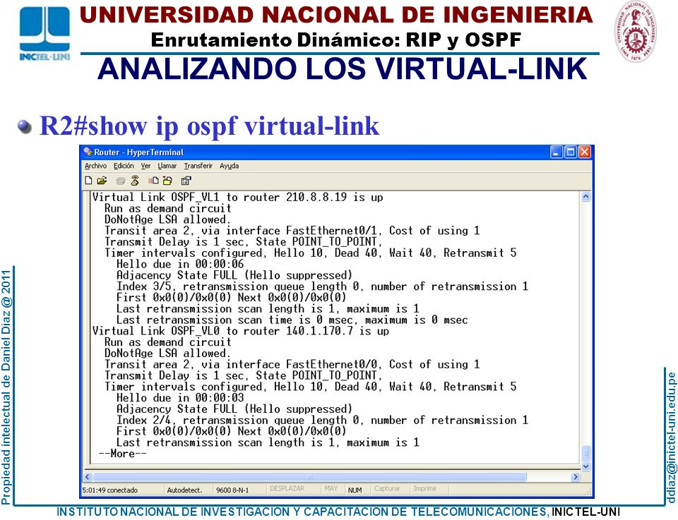ANALIZANDO LOS VIRTUAL-LINK