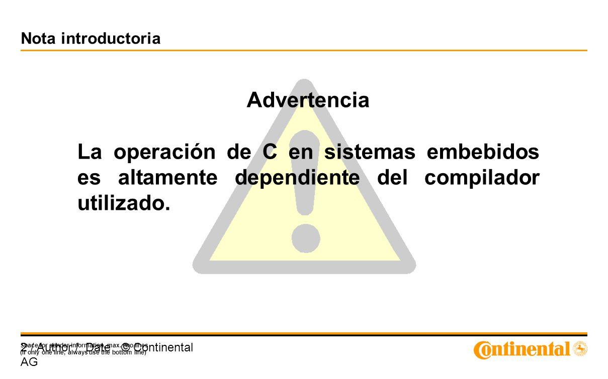Nota introductoria Advertencia.