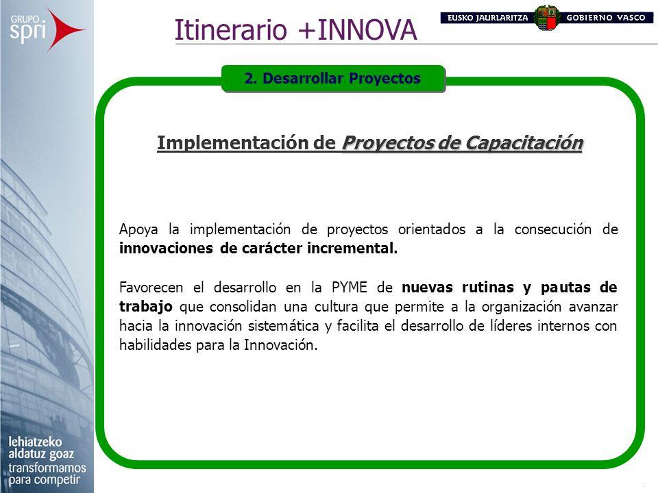 2. Desarrollar Proyectos Implementación de Proyectos de Capacitación