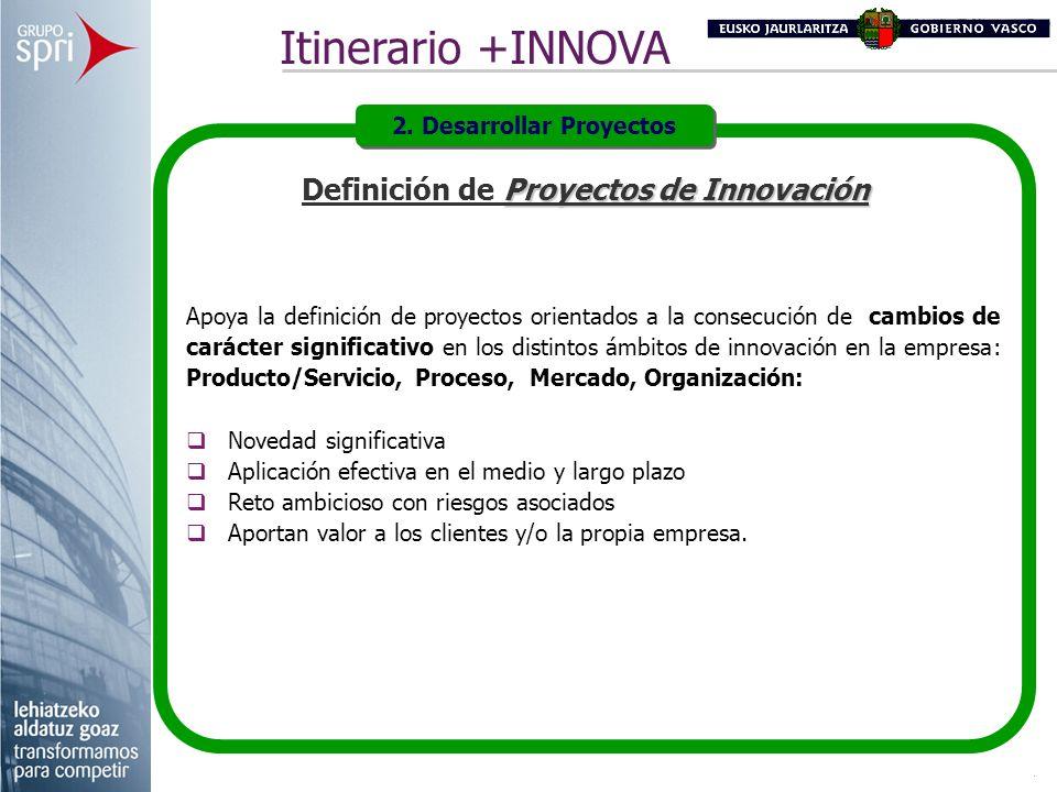 2. Desarrollar Proyectos Definición de Proyectos de Innovación