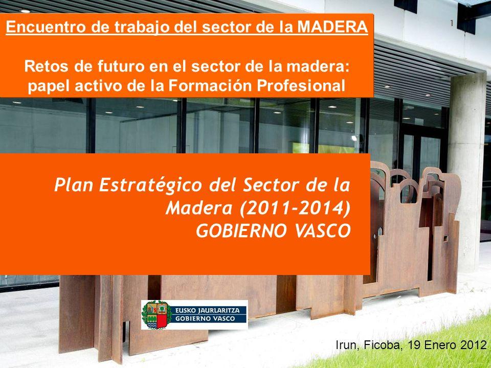 Plan Estratégico del Sector de la Madera (2011-2014) GOBIERNO VASCO
