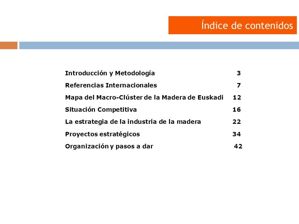 Índice de contenidos Introducción y Metodología 3