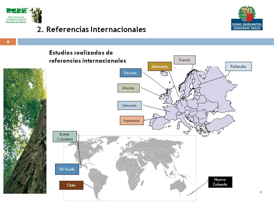 2. Referencias Internacionales