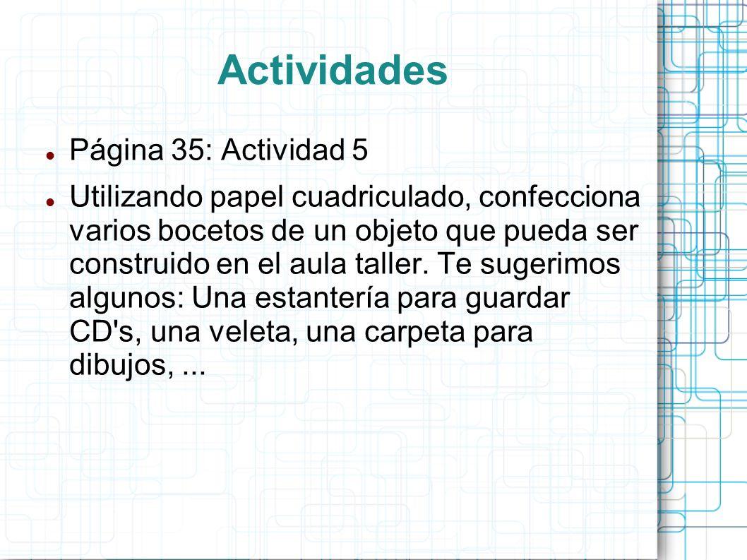 Actividades Página 35: Actividad 5