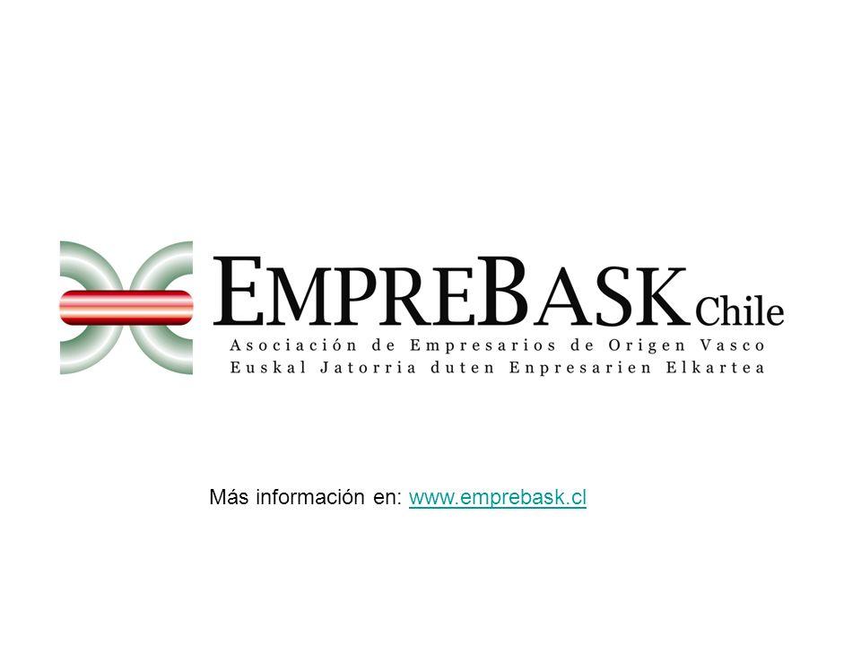 Más información en: www.emprebask.cl