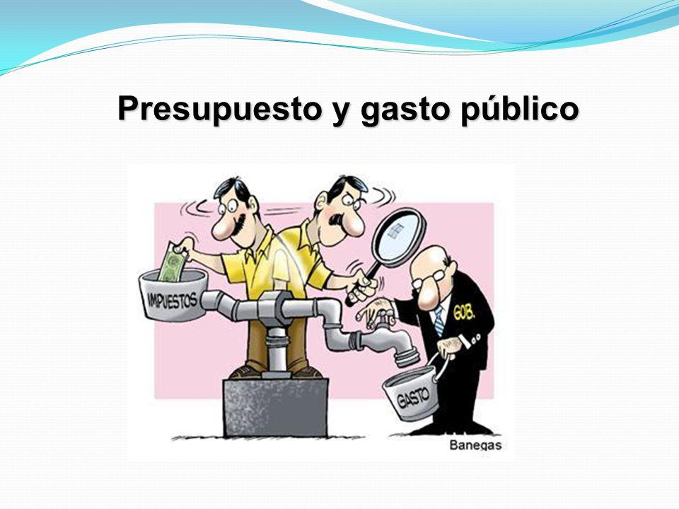 Presupuesto y gasto público