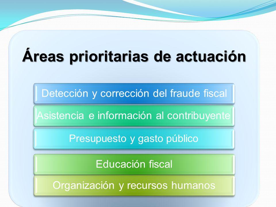Áreas prioritarias de actuación