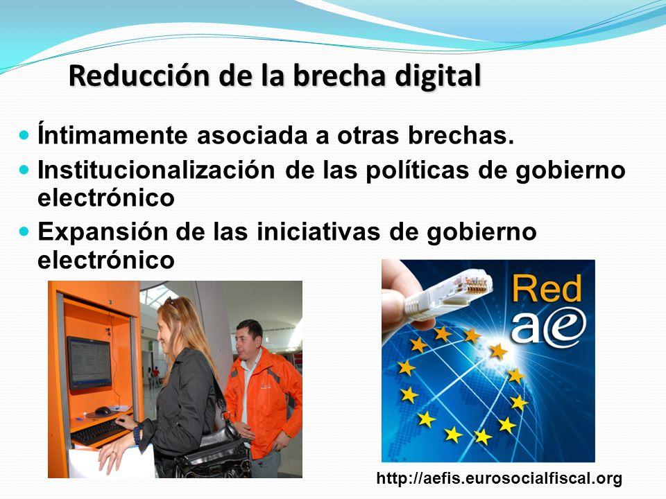 Reducción de la brecha digital