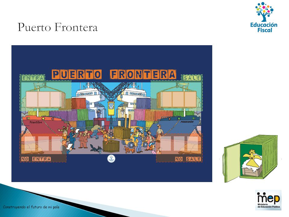 Puerto Frontera Construyendo el futuro de mi país