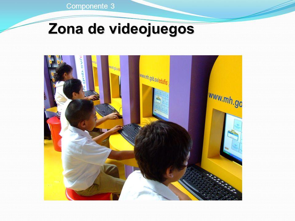Zona de videojuegos Componente 3