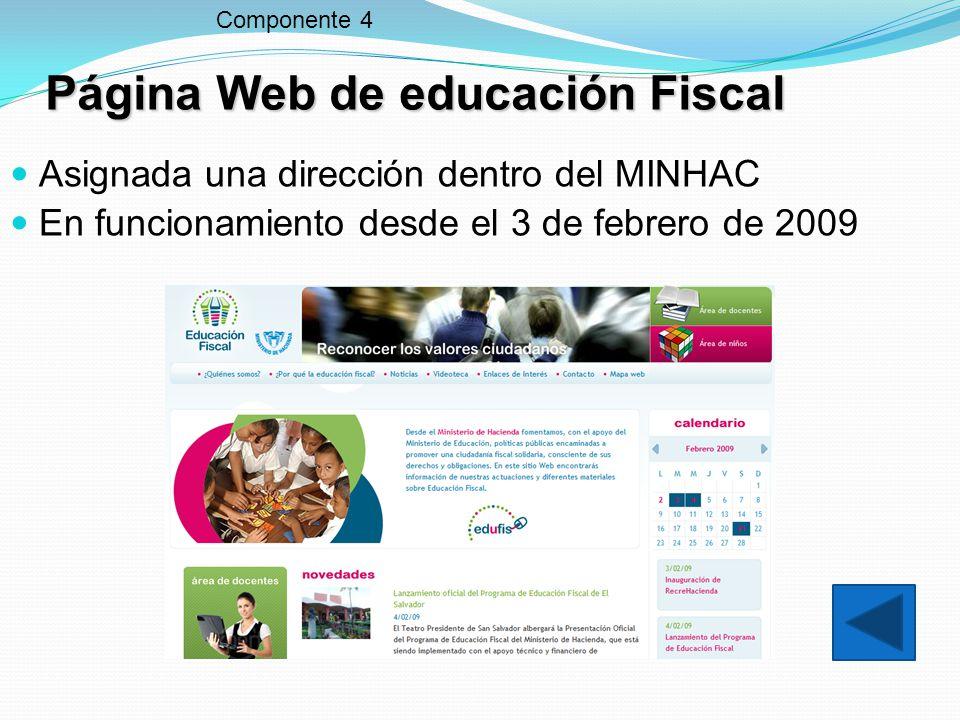 Página Web de educación Fiscal