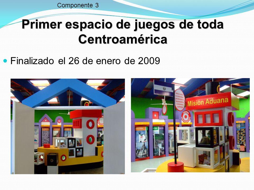 Primer espacio de juegos de toda Centroamérica