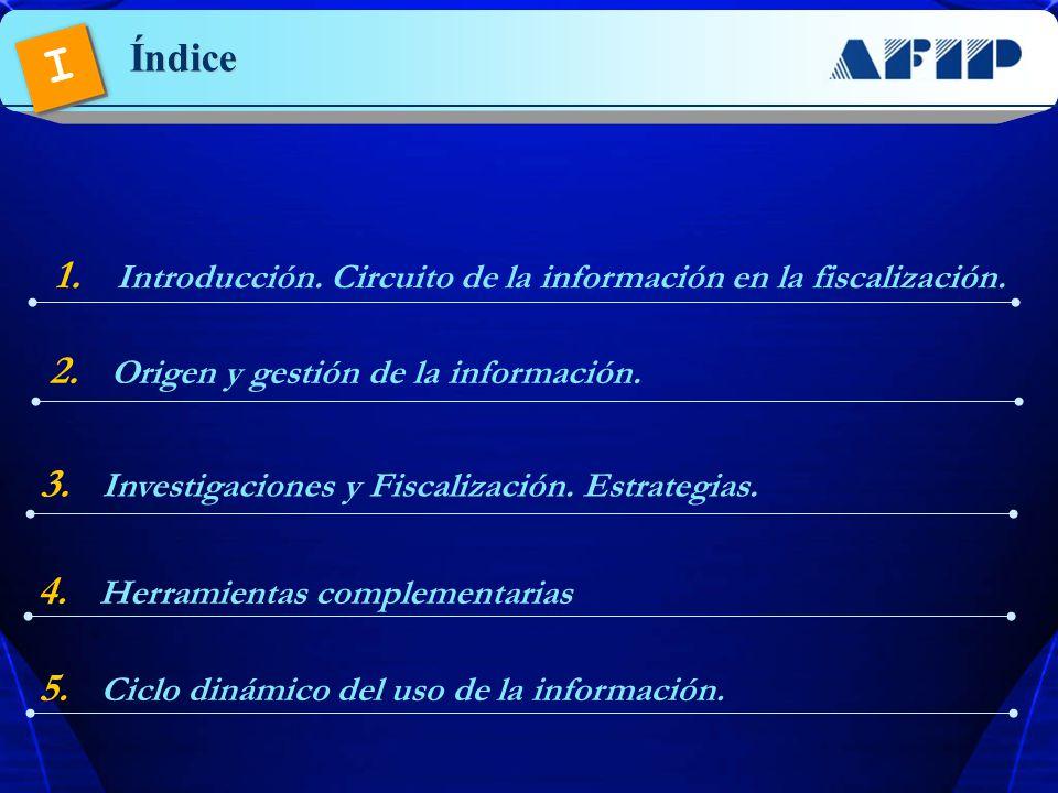 1 Introducción. Circuito de la información en la fiscalización