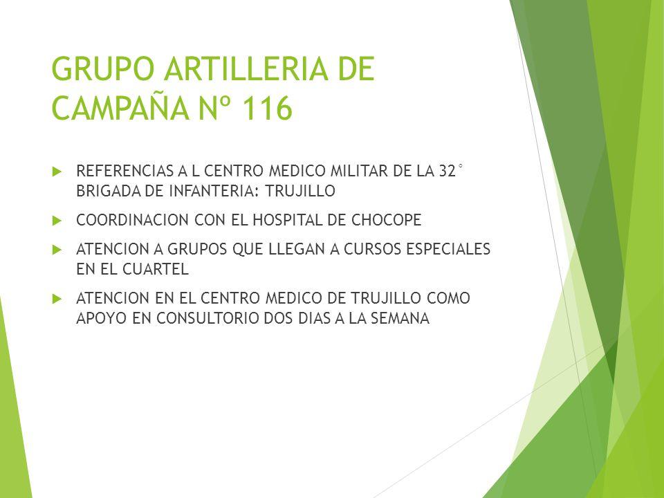 GRUPO ARTILLERIA DE CAMPAÑA Nº 116
