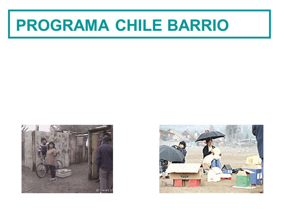 PROGRAMA CHILE BARRIO