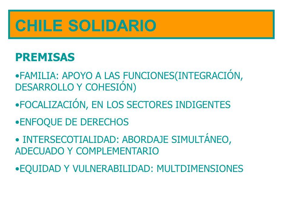 CHILE SOLIDARIO PREMISAS
