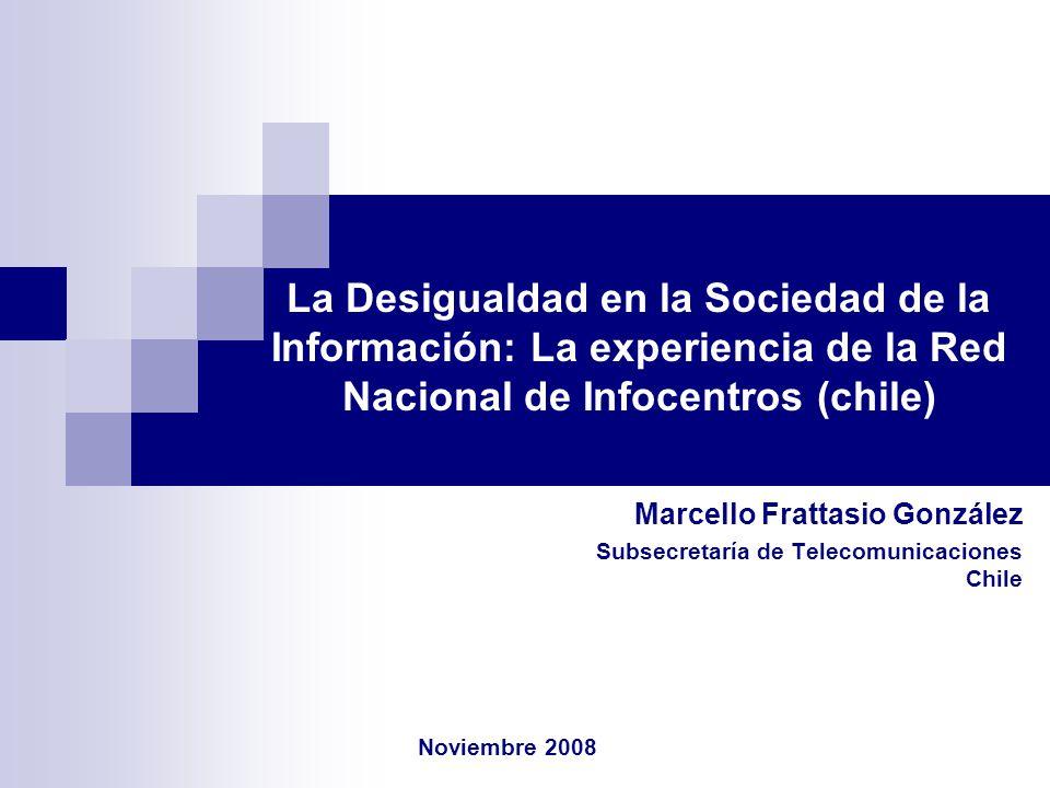 Marcello Frattasio González Subsecretaría de Telecomunicaciones Chile