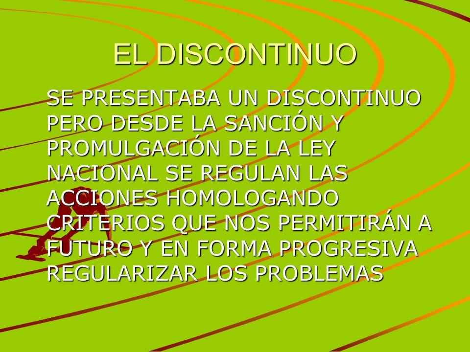 EL DISCONTINUO